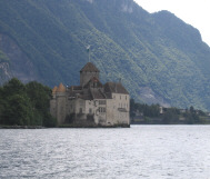 The Castle of Chillon on Lake Geneva, Switzerland